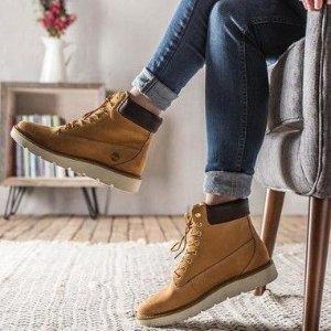 立享8.3折+1件包税可免邮中国最后一天:Timberland 女鞋年末大促   收经典黄靴、牛津鞋