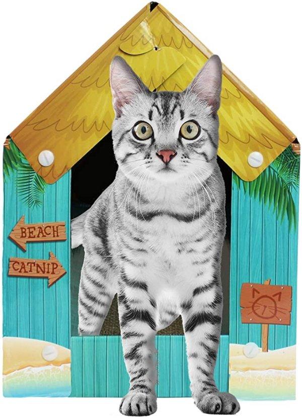 猫咪瓦楞玩具盒