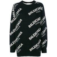 Balenciaga logo 针织毛衣