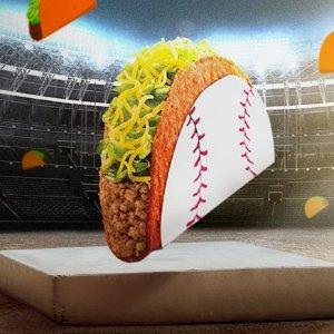 无门槛免费领限今天:Taco Bell 热销款 Doritos Locos Tacos