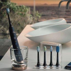$279.95(原价$350) 8折Philips Sonicare系列 HX9954/64蓝牙超声波振动9750牙刷 月夜蓝