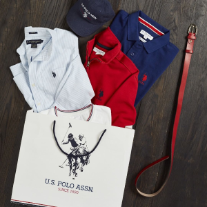 $15 + Free Shipping Selected Solid Polo Shirts @ US polo Assn.