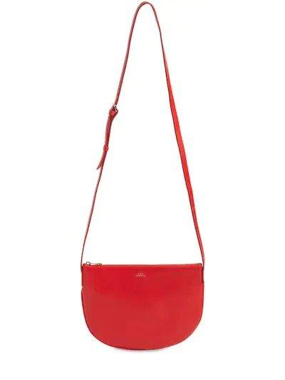 红色半月包