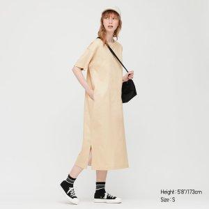 Uniqlo多色可选~T恤连衣裙