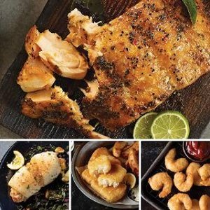 免邮海鲜套餐 含8份新鲜食材