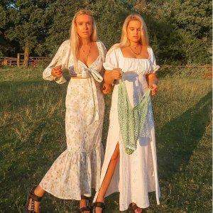 低至3折+折上8折 €9.3起收黑白短裙ASOS 全场连衣裙闪促 收蕾丝裙、缎面百褶裙 仙女的打开方式