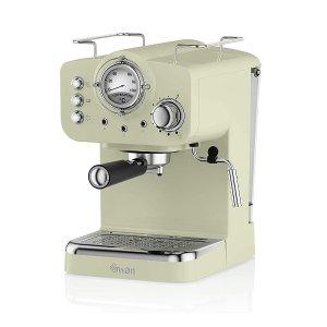 Swan补货!浓缩咖啡机 抹茶色