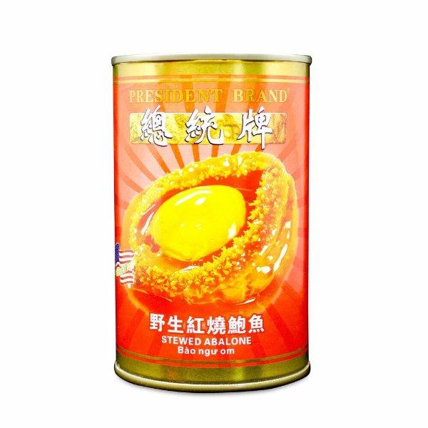 总统牌野生红烧鲍鱼 5颗/罐 (425g)