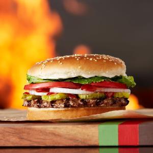 满$1即送Whopper汉堡T-Mobile用户独享福利,Burger King限时优惠活动