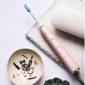 低至4折  5100粉色只要99胖Philips电动牙刷热促  高频振动超越蜂鸟的神科技