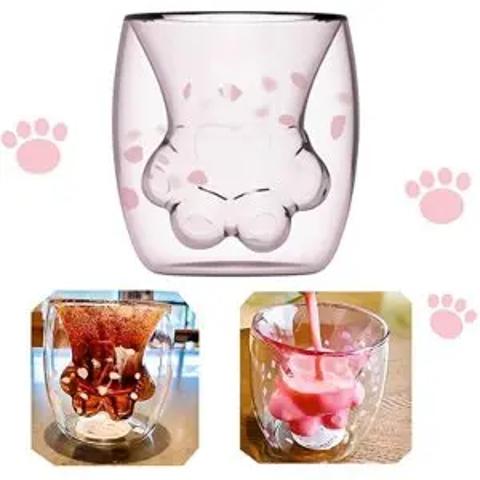 2个装仅€26.88 还有小熊杯亚马逊精选:网红樱花猫爪杯热卖 材质坚固浪漫满分