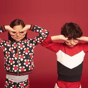 满额85折 £44收Puma蝴蝶结板鞋Luisaviaroma 儿童美衣热促中 收CF眼睛毛衣,MSGM 托特包