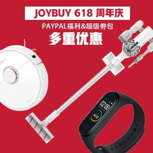Discount + Coupon CodeJoyBuy 618 Mega Sale