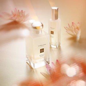 任意单送Q香9ml(价值$27)Jo Malone 清新自然香薰香水 收限量秘境花园系列、限量橙花香薰蜡烛