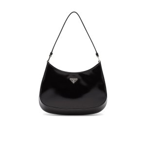 Prada Cleo brushed leather shoulder bag