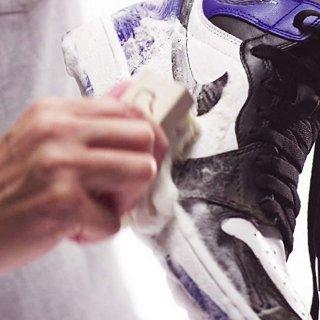售价$22.83 小白鞋守护者Jason Markk 球鞋专用清洁剂+鞋刷套装