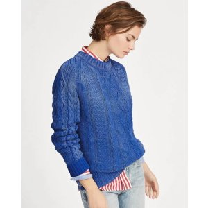 Ralph LaurenCable Cotton Sweater