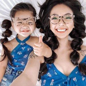 买一送一+额外8.5折Eyebuydirect 儿童眼镜 亲肤材质舒适轻巧结构 保护孩子眼睛