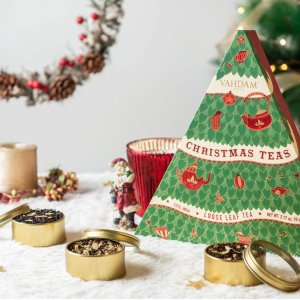 圣诞茶叶3罐装礼盒
