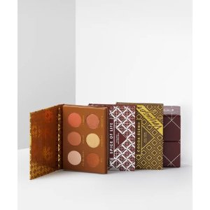 zoeva不同色系六色盘3个旅行者眼影盘组合