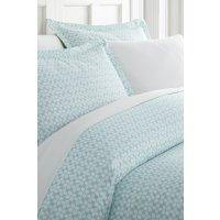 IENJOY HOME Enhance And Improve Your Bedroom 3-Piece Duvet Cover Set - Aqua - Queen