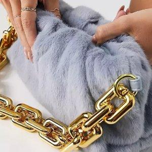 3折起+新人8.5折 £22收封面链条包ASOS 大牌平替白菜价包包 Pinko、Dior、LV等超强平替款