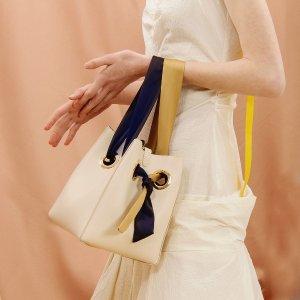 unitude预定Ribbon 手提包 - 奶白色