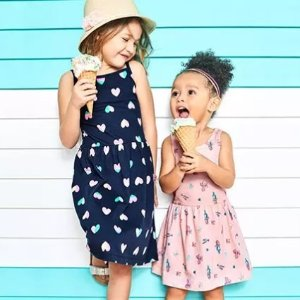 Ending Soon: $6 & Up + Double Points Girls Dresses @ Carter's