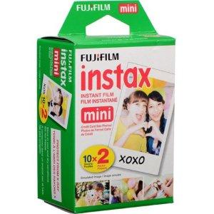 $13.38Fujifilm Instax Mini 相纸 两盒装 共20张