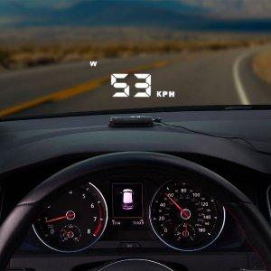 无损安装 $13.99(原价$59.99)Scosche 车用GPS抬头显示器