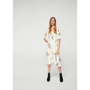 Floral ruffled dress - Women | OUTLET USA