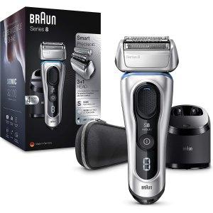 3.5折起 最高省£220Braun 男士电动剃须刀系列热促 送老爸、男友最实用的