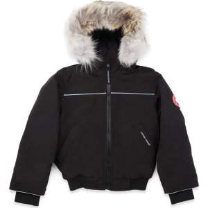 Canada Goose- Kids Grizzly 短款羽绒服