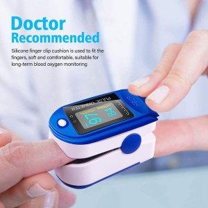 低至4.1折 €19.99起闪购:MEINAIER 血氧仪大促 心率、血氧浓度、PI指数一夹全知道