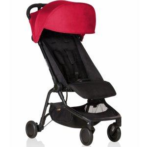 全线降价 $159.99起Mountain Buggy Nano 童车、旅行套装促销 可带上飞机