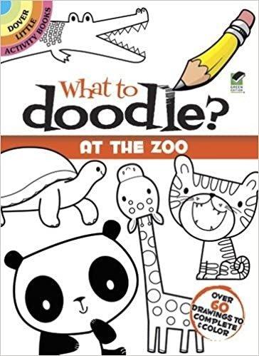 童书:What to Doodle? At the Zoo