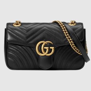 无门槛8折 £1352收封面款 颜色全逆天价:Gucci GG Marmont 中号惊现史低价 从来不打折的款式手慢无