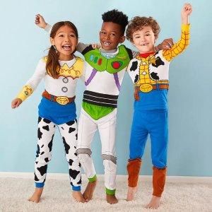 $12起收一整套 今天包邮shopDisney 儿童纯棉卡通睡衣&保暖家居服热卖