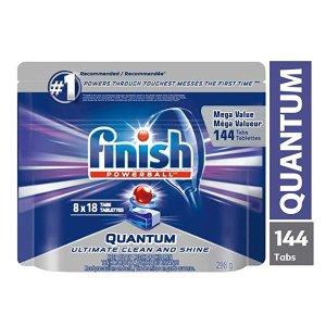 现价$12.22 (原价$24.99)史低价:Finish 洗碗机专用洗涤块  强力去渍技术 80颗装