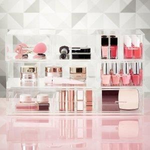 Luxe Acrylic Large Nail Polish & Makeup Storage Starter Kit