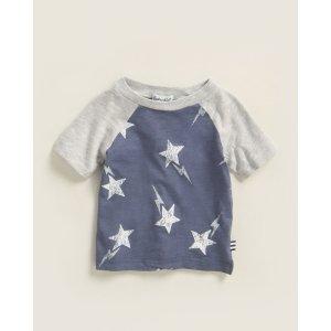 Splendid(Newborn/Infant Boys) Star Print Short Sleeve Tee