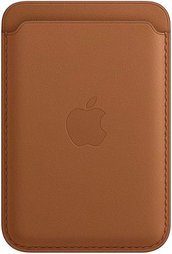 iPhone 12 系列专用 官方皮质MagSafe磁吸钱包/卡包