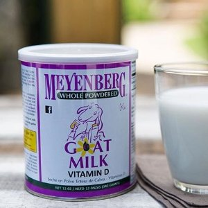 $9.49 + 免邮 4.5星高分商品Meyenberg 全脂100%纯山羊奶粉(含维他命D) 12oz