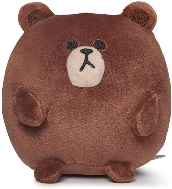 布朗熊 嘟嘟公仔