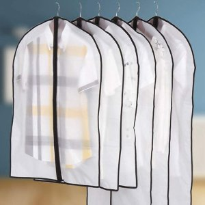 折后仅€8.49 不同长度可选Niviy 衣服防尘袋6只装热促 快来收纳你的冬季衣物