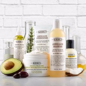 下单即送豪华5件套Kiehl's 全场护肤品、身体护理产品热卖