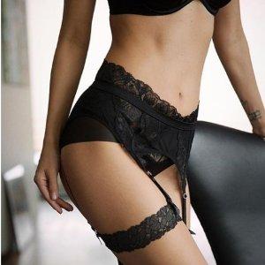 精选5折 £17.5收黑色透明紧身长袜Wolford 性感裤袜、内衣等热卖