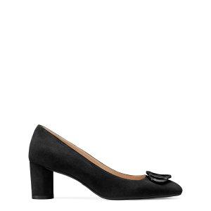 Stuart Weitzman黑色粗跟鞋