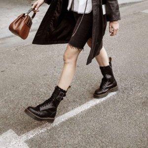 1双免邮中国Dr.Martens 马丁靴11.11精选7折热卖,1460漆皮款¥776