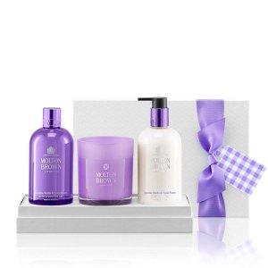 Exquisite Vanilla & Violet Flower Body & Home Gift Set